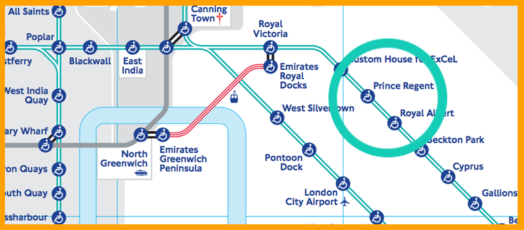 Centre London Map.How To Get To Excel London Exhibition Centre Mapway