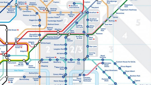 What Does Zone 2/3 on the New Tube Map Mean? - Mapway